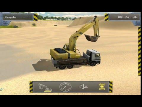 รถแม็คโคร - Bau-Simulator 2012 อาจจะ กระตุกบ้าง.