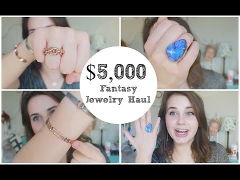 Over $5,000 Designer Jewelry Haul! (and Giveaway)
