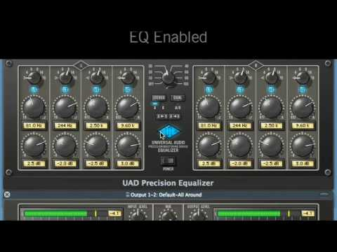 Mastering with Universal Audio's Precision Series Plug-Ins
