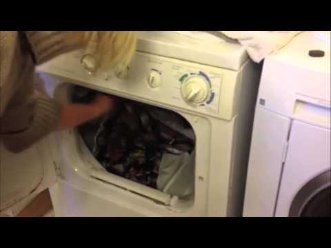 Γρήγορο πλύσιμο κουρτινών