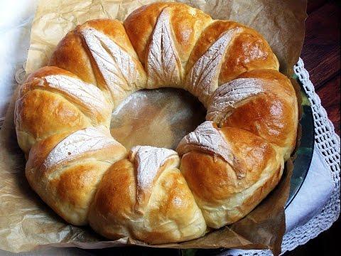 la corona del cuoco, pan brioche intrecciato!