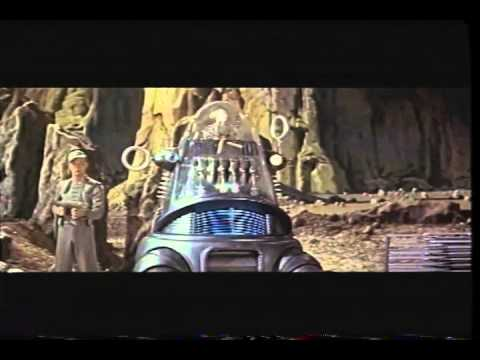 Forbidden Planet Trailer 1956