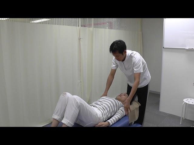 【施術動画】五十肩・肩関節周囲炎で右腕を上げる時に痛みがある