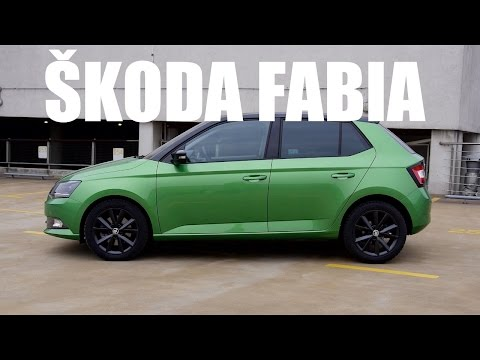 (ENG) 2015 Skoda Fabia – Test Drive and Review