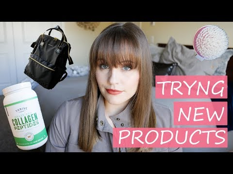 Trying New Things & Products, Collagen?? | Jessica.Walla