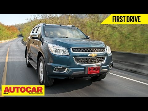 Chevrolet Trailblazer | First Drive Video Review | Autocar India