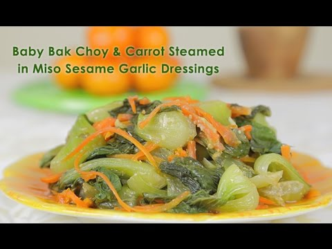 baby bak choy, miso, sesame oil, fermented miso, gut healthy foods ...