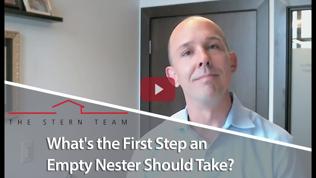What's the First Step an Empty Nester Should Take?