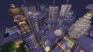 Minecraft Xbox - Galaxy City - World Tour - Part 2