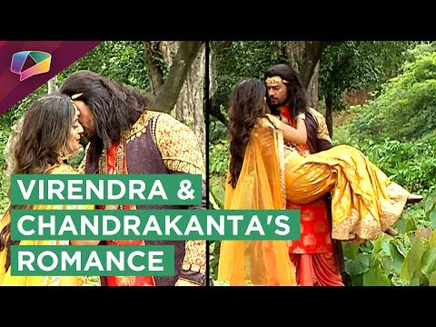 Virendra And Chandrakanta Get Close In The Woods |