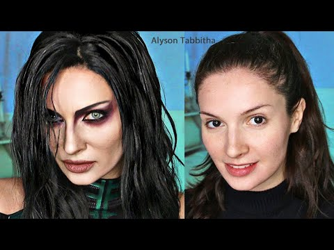 Hela Makeup Transformation - Cosplay Tutorial