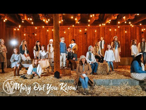 """Michael English  """"Mary, Did You Know?"""" Cover by One Voice Children's Choir"""