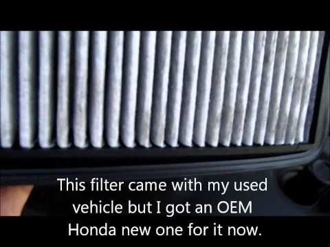 How to change the Acura MDX engine air filter or other vehicles and save $$$$