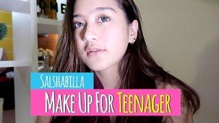 Video Salshabilla #BEAUTY - MAKE UP FOR TEENAGER MP3, 3GP, MP4, WEBM, AVI, FLV Desember 2018
