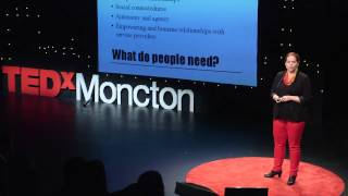 Mental health and criminal justice | Crystal Dieleman | TEDxMoncton