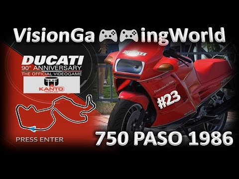 DUCATI - 90th Anniversary (by V.G.W.) - #23 🎮 (Race 23/Kanto) - The 80's 1985-1989 (750 Paso)