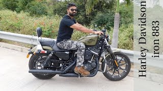 6. Rider Review on Harley Davidson iRON 883 & Specification