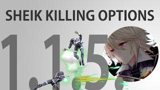 Sheik Kill Options (post 1.1.5) – deku tree
