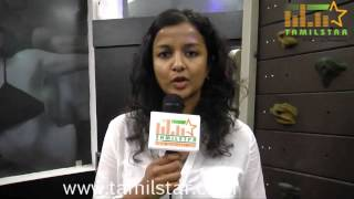Kiruthiga Udhayanidhi at Womens Day Fitness Competition