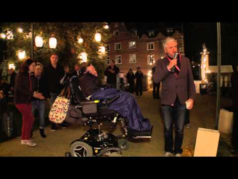 The Theory of Everything Hawkings Set Visit