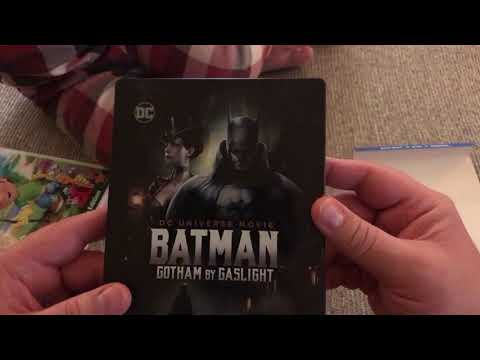 Batman Gotham By Gaslight Blu Ray DVD Unboxing