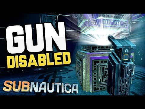 Subnautica - NEW GUN POWER DOWN SEQUENCE! + Cure Cinematic & Carar Story- Subnautica Gameplay Update (видео)