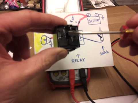RELAYS – How to wire and how they work TUTORIAL !!