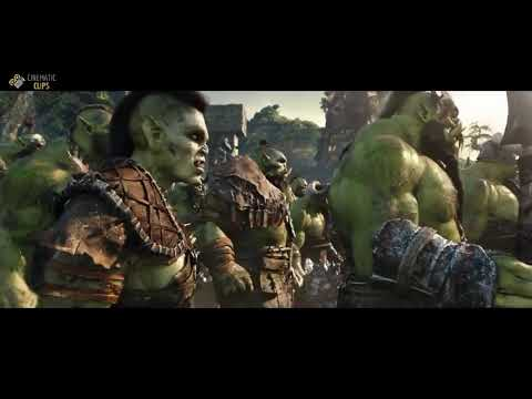 Fantastic scene from Warcraft,,,,,, telugu dubbed movies
