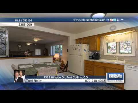 1328 Hillside Dr  Fort Collins, CO Homes for Sale | coloradohomes.com