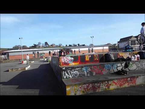 Glastonbury skatepark edit