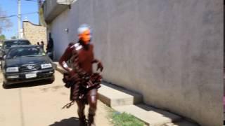 los diablos aceitados en San Martín Tilcajete 2016