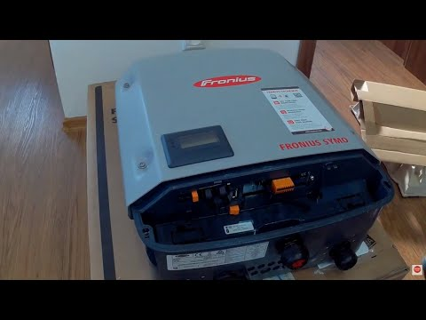 Solar Inverter Fronius Symo - installation , commissioning and review