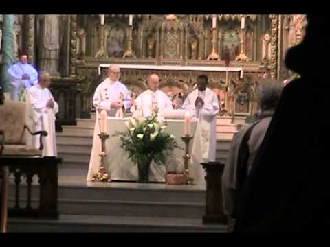 Pro Life Mass- Notre Dame Cathedral - photos Hymne a Notre Dame de Guadalupe - Isabelle O'Connor