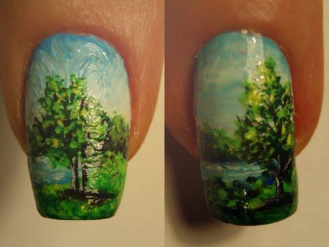 nail art micro pittura
