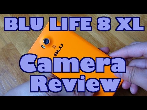 BLU Life 8 XL (2015) - Full Camera Review and Demo