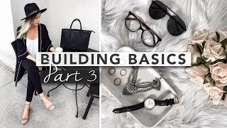 Welcome to part 3 of Building Basics - The Time Capsule Wardrobe! I'm building up all of the basic timeless pieces in my wardrobe so I'll have them for years to come.This episode we're showcasing accessories, and those simple timeless pieces you can use to jazz up any outfit.E xx ( http://erin-elizabeth.ca )Hi! My name is Erin and I make lifestyle videos! Make sure to subscribe because I upload every single Thursday and Sunday :)Thursdays: LifestyleSunday: StyleIf you enjoy my content then make sure you sign up for some monthly inspiration: http://bit.ly/2iPo7jR ACTUAL ITEMSBlack Bag: http://bit.ly/2pdafW8Brown Bag: http://bit.ly/2kyEq8sBaseball Hat: http://bit.ly/2sFepYGSIMILAR ITEMSSneakers: http://bit.ly/2sFd6sKSandals: http://bit.ly/2rriEqgFlats: http://bit.ly/2rmiTjkFedora: http://bit.ly/2kM4M6m··················································································································Let's be friends :)TWITTER: http://www.twitter.com/eringrahammINSTAGRAM: http://www.instagram.com/erinelizabethhFACEBOOK: https://www.facebook.com/erinelizabet...PINTEREST: https://www.pinterest.com/erinngraham/ SNAPCHAT: eringrahammContact:blogerinelizabeth@gmail.comCamera I use: http://amzn.to/2lCW5Ju···································································································Music Info:Before I Sleep by Muciojad https://soundcloud.com/muciojadCreative Commons — Attribution-ShareAlike 3.0 Unported— CC BY-SA 3.0 http://creativecommons.org/licenses/b...Music provided by Audio Library https://youtu.be/K2viE1vRNuI*some links may be affiliate*not sponsored