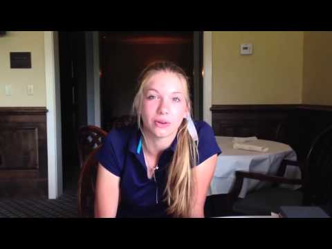 Abbey Daniel thrilled to be competing at Augusta National Golf Club: Video