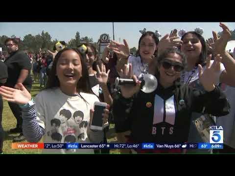 BTS Fever Descends on the Rose Bowl in Pasadena