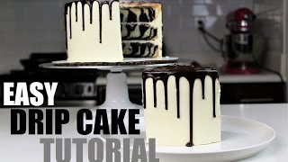 How to Make A Chocolate Drip Cake | CHELSWEETS