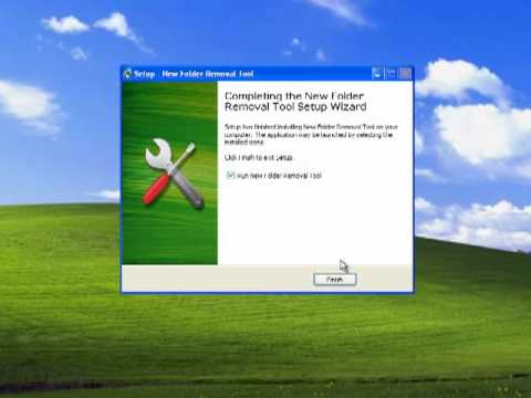 How To Remove Newfolder Virus