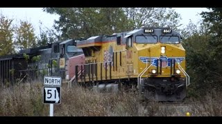 Dexter (MO) United States  City new picture : SD UP Coal Train w/ ex-SP AC44CW Dexter, MO 11/5/14