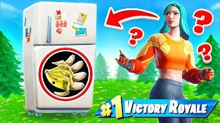 GIANT FRIDGE Hide and SEEK *NEW* Game Mode in Fortnite Battle Royale