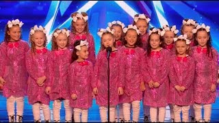 Video Don't get distract by Qt Crew pink outfit! | Week 2 | Britain's Got Talent 2017 MP3, 3GP, MP4, WEBM, AVI, FLV Mei 2018