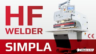 Simpla - High Frequency Welder for tarpaulin, tents, billboards, truck covers