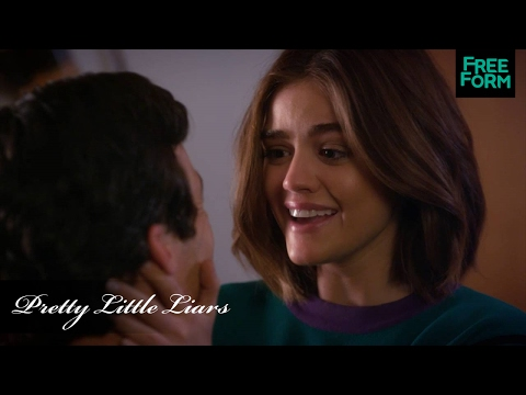 Pretty Little Liars | Season 7, Episode 6 Clip: Aria Says Yes! | Freeform