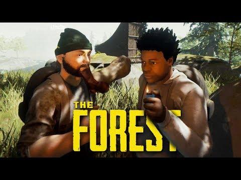 4 ЧЕЛОВЕКА ВЫЖИВАЮТ СУРОВОЙ ЗИМОЙ (УГАР) - The Forest