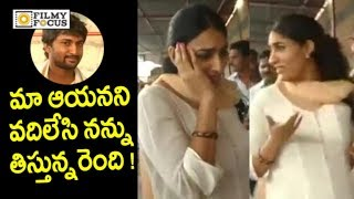Video Nani Wife Anjana Funny with Media @Tirumala | Nani with Family Visits Tirumala - Filmyfocus.com MP3, 3GP, MP4, WEBM, AVI, FLV November 2017