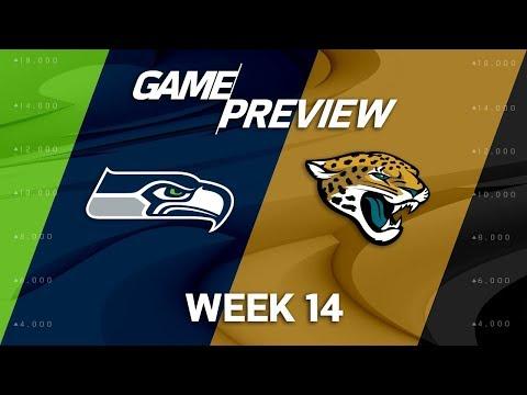 Video: Seattle Seahawks vs. Jacksonville Jaguars | NFL Week 14 Game Preview | NFL Film Review