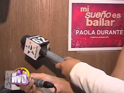 Paola Durante es expulsada de Mi sueño es bailar. EN VIVO  - Thumbnail