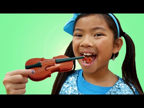 Emma Pretend Play Chocolate Challenge | Real or Fake Chocolate Candy Food Toys